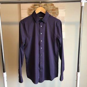 Express Slim Fit Dress Shirt